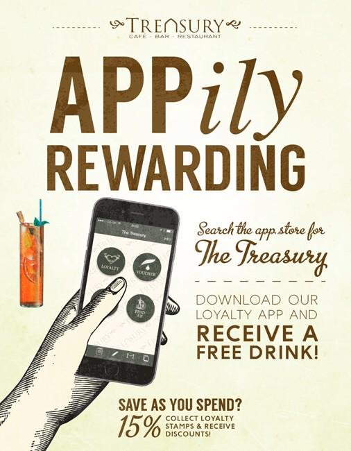 The Treasury Rewards Phone App