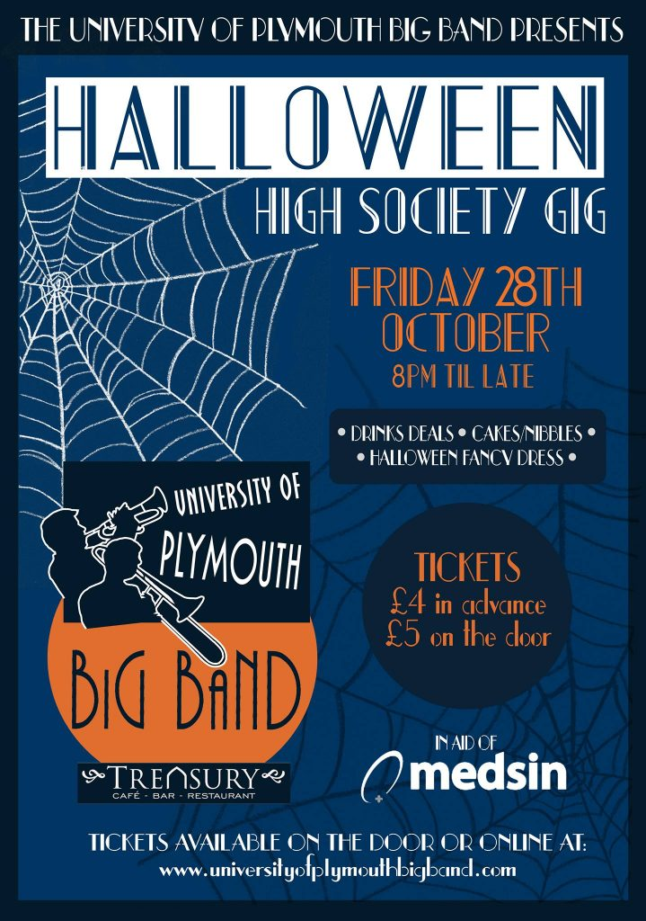 big-band-halloween-high-society-gig-poster